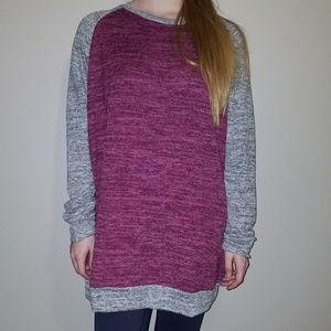 NWT Women's Tunic Crew-neck Sweater